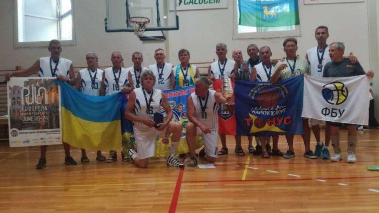 Украинские ветераны на ЧЕ по баскетболу занимают призовые места