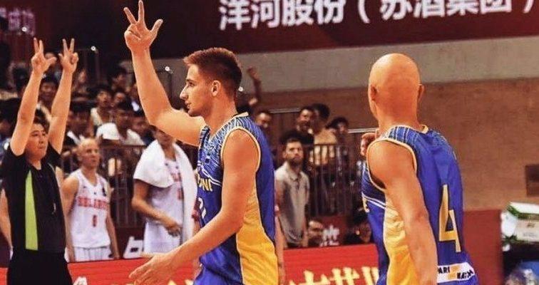 Сборная Украины по баскетболу выступает во Франции