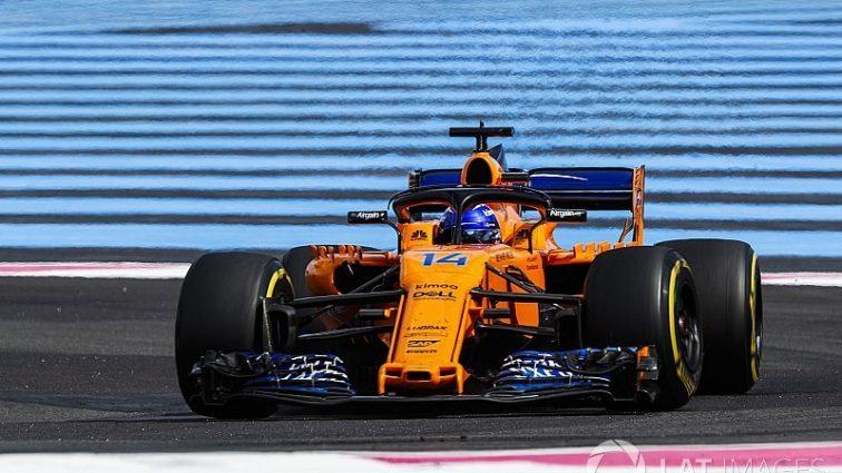 Алонсо рассказал о жалком положении McLaren во время Гран При Франции