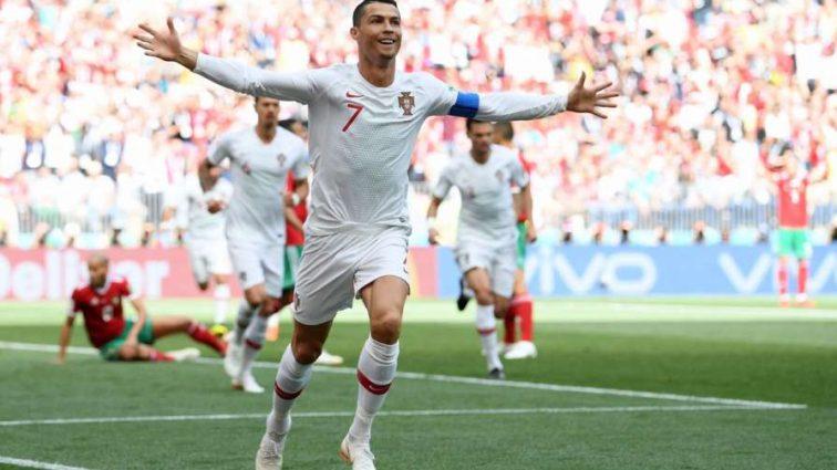 Рекордсмен Роналду прогнал марокканцев из России