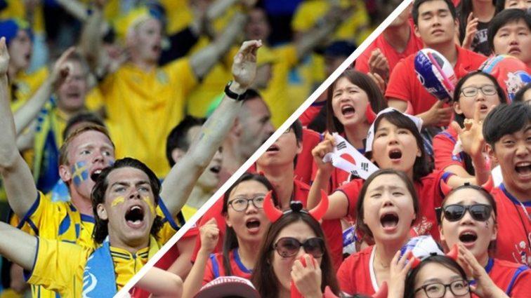 Шокирующий результат матча Швеция — Южная Корея