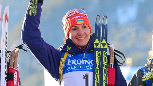 Елена Пидгрушная не поехала со сборной Украины в Финляндию на сборы, в биатлонистки травма
