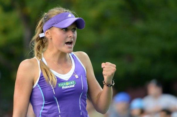 Украинка Козлова феерично вышла в четвертьфинал престижного турнира в Чехии