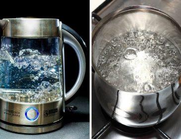 Вот почему нельзя кипятить воду повторно. Это может быть опасно