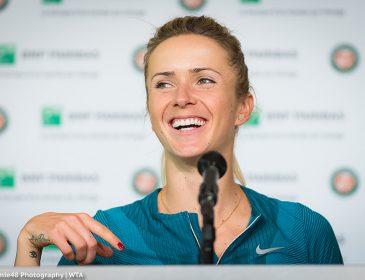 Элина Свитолина пробует себя в новом виде спорта