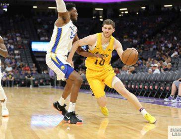 Украинский баскетболист помог «Лейкерс» победить в матче Летней лиги НБА
