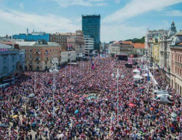 Стало известно, как Хорватия встретила футболистов из России