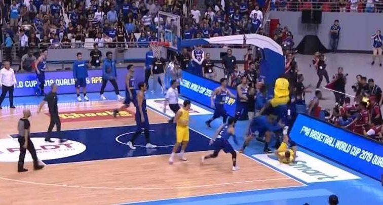 Баскетболисты устроили грубую драку в матче отбора на ЧМ
