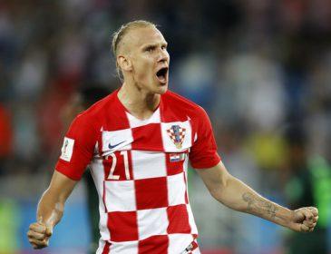 «Опять попал в беду»: хорватский защитник Вида едва не свалился с автобуса, празднуя серебро ЧМ-2018