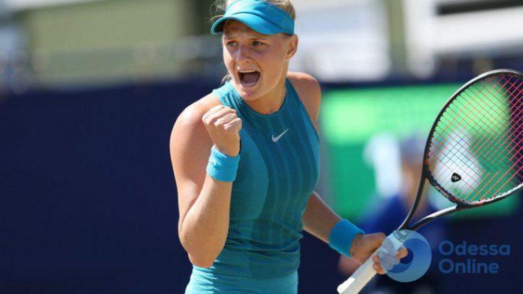 Невероятное попадание одесситки в четвертьфинал теннисного турнира в Венгрии