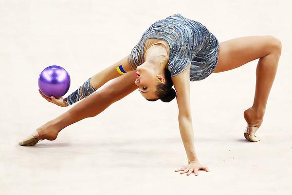 Молодые украинские гимнастки завоевали золотые медали в Италии