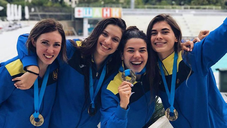 Украинская сборная заняла третье место на ЧМ по подводному плаванию