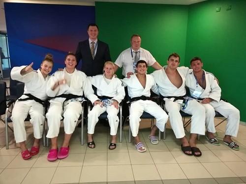 Сборная Украины завоевала третье место на чемпионате Европы по дзюдо