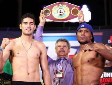Вечер триумфального бокса: Сауседо победил Заппавинью, а Рамирес — Ангуло