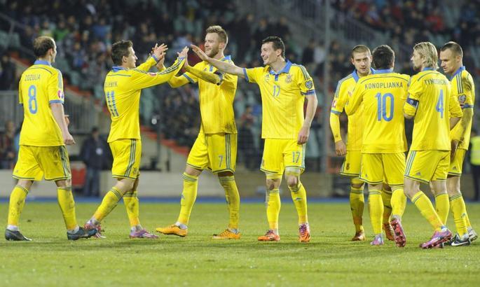 Футболисты сборной Украины отказались поселиться в «Москве»