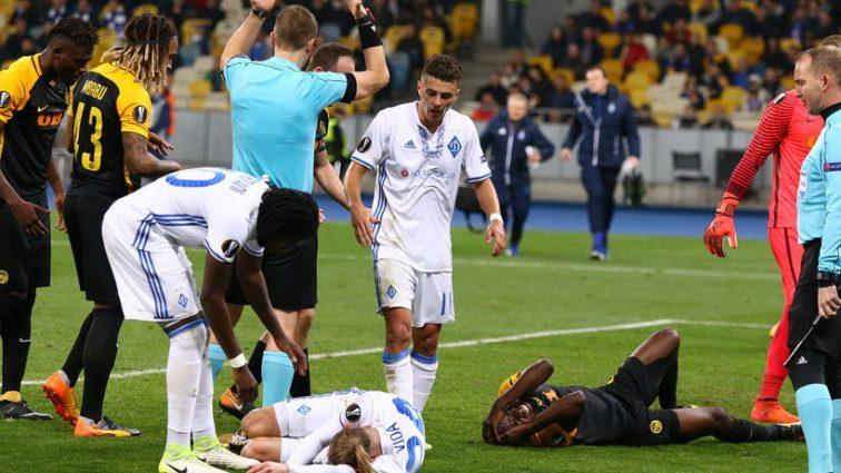 На Закарпатье отблагодарили хорватским футболистам за «Слава Украине!»