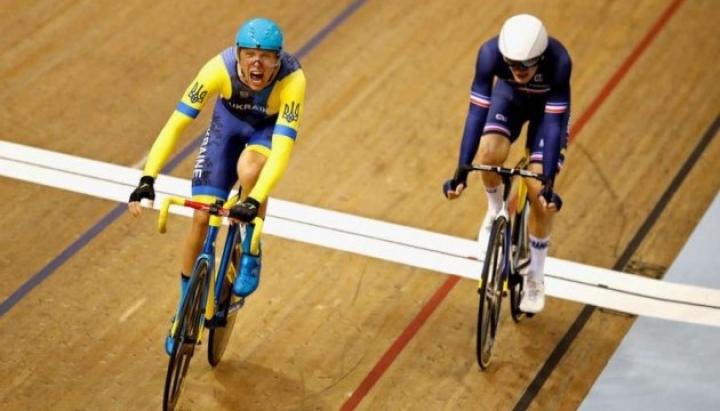 Украинец стал чемпионом Европы по велоспорту