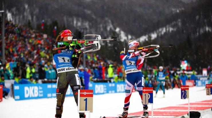 Трое российских биатлонисток перешли в сборную Украины