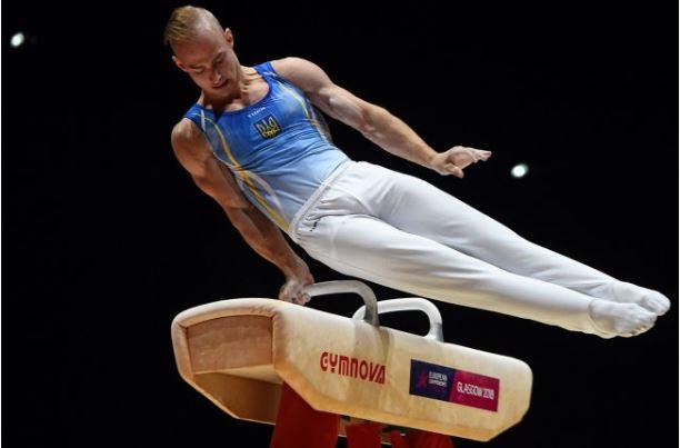 Украинец завоевал «серебро» чемпионата Европы в опорном прыжке