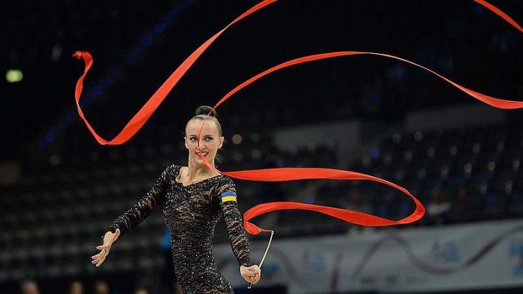 Украинская команда представит страну на соревновании по художественной гимнастике