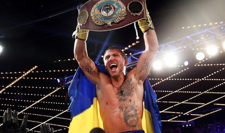 Ломаченко третий раз подряд лидирует в рейтинге лучших боксеров мира