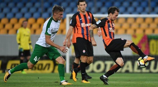 В украинской Премьер-лиге «Шахтер» удачно обыграл «Александрию»