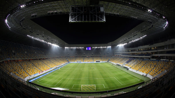 Украинская сборная по футболу готовится провести первый домашний матч отбора на Евро-2020 во Львове