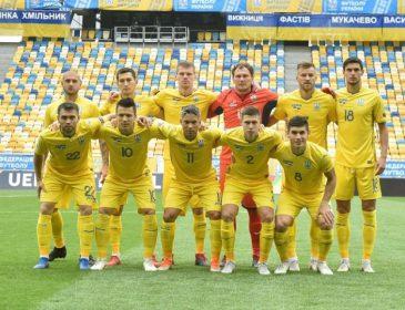 Сборная Украины показала наибольший прогресс в новом рейтинге ФИФА