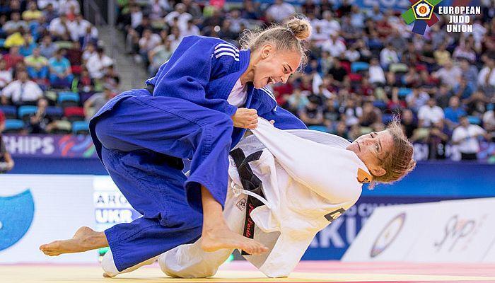 17-летняя спортсменка Дарья Билодид стала чемпионкой мира по дзюдо