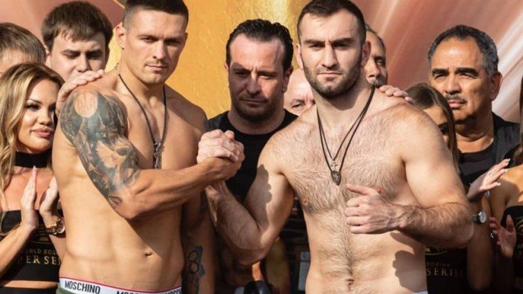 «Я готов»: Александр Усик назвал условие для реванша с Муратом Гассиевым