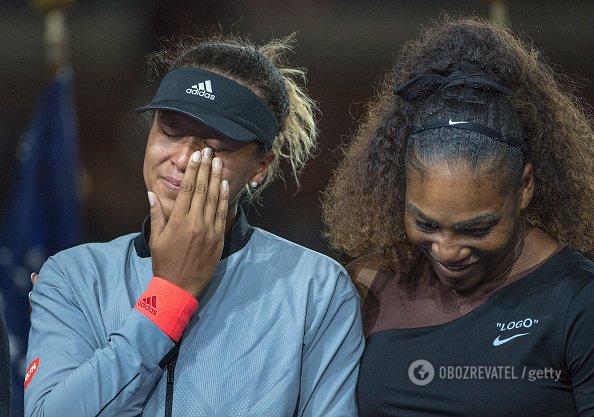 Финал US Open среди женщин завершился громким скандалом, Серена Уильямс свирепствовала