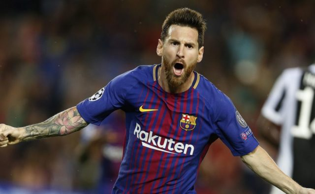 Знаменитый Месси установил рекорд Лиги чемпионов, опередив Роналду