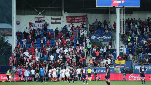 В Испании обрушился стадион во время празднования гола: фото с места происшествия