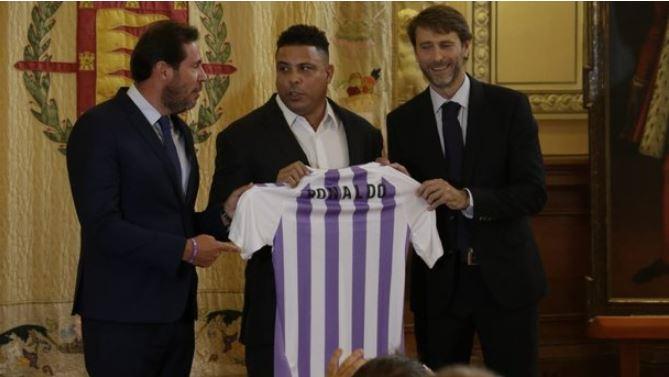 «Наши иллюзии и мечты»: знаменитый бразилец Роналдо стал президентом клуба из чемпионата Испании