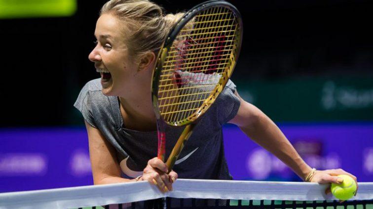 Элина Свитолина получила отчаянную победу на Итоговом турнире