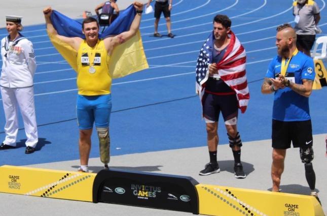 Украинец завоевал еще одну медаль на «Играх непокоренных» в Сиднее