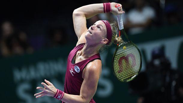 Бертенс прошла в полуфинал Итогового чемпионата ВТА