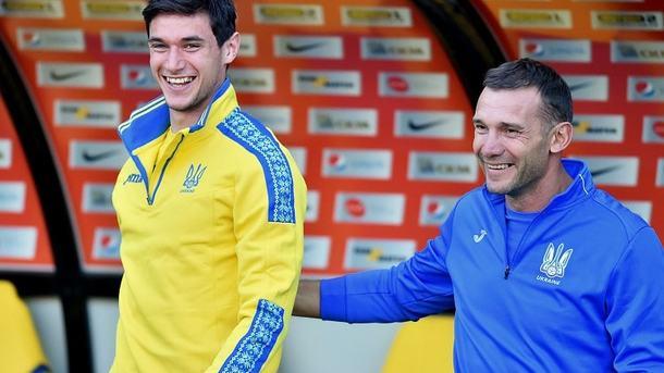 Шевченко рассказал, кто станет девяткой легионеров на матче против Словакии и Турции