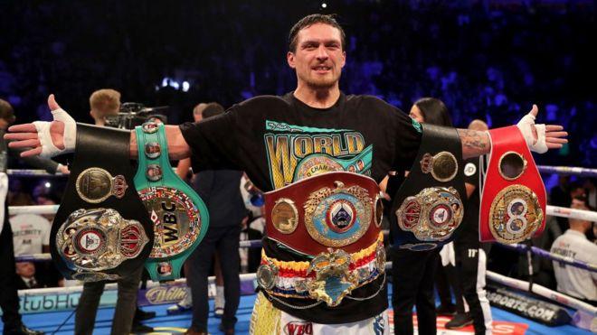 «Стоит на несколько месяцев совсем забыть о боксе»: промоутер Усика рассказал о планах боксера