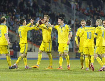 Украинская сборная по футболу сегодня сыграет свой последний матч в 2018 году
