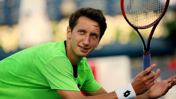 Украинский теннисист Стаховский выбил себе место в четвертьфинале в Италии