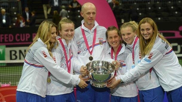 Чехия уже шестой раз смогла завоевать Кубок Федерации