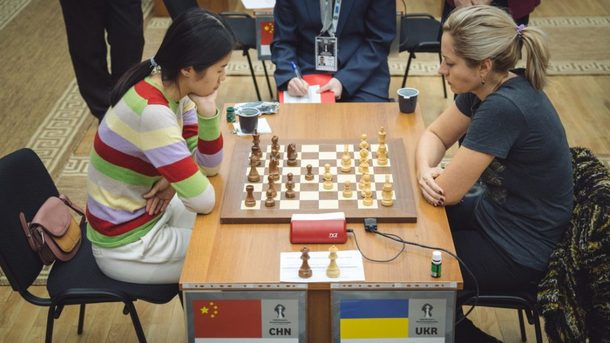 Две украинские шахматистки вылетели с чемпионата мира в России