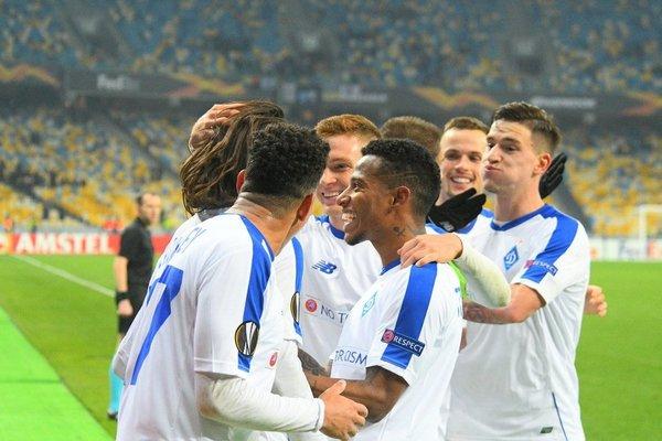 Украинское «Динамо» названо лучшей командой Лиги Европы