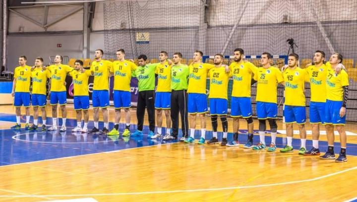 Сборная Украины по гандболу заняла третье место на «Кубке Риги — 2018»