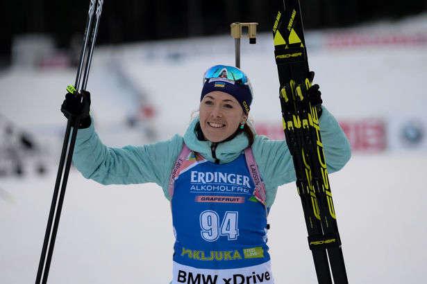 За кубок наций по биатлону женская сборная от Украины опустилась уже на второе место