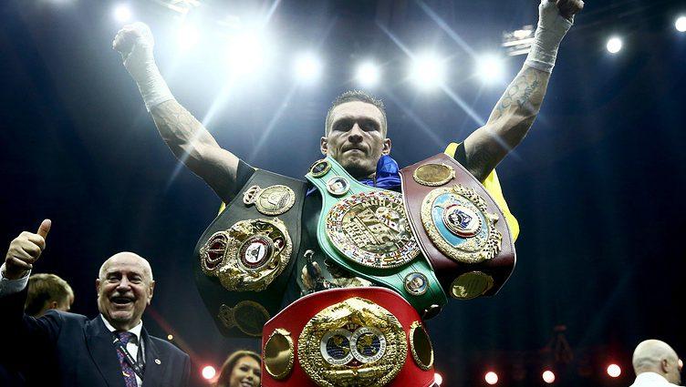 Авторитетное спортивное издание The Ring назвало Александра Усика лучшим боксером года