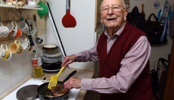«Я могу сказать, что секрет долголетия в двух простых вещах»: 100-летний англичанин раскрыл секрет долгой жизни