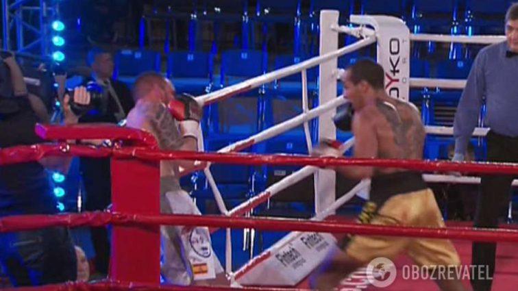 «Потрясающая атака»: Украинский боксер получил эффектную победу грубым нокаутом