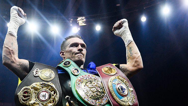 Очередное авторитетное издание считает Усика лучшим боксером в 2018-м году